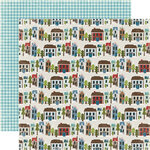 Echo Park - Winter Park Collection - 12 x 12 Double Sided Paper - Park City