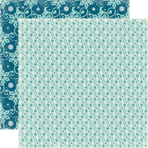 Echo Park - Winter Park Collection - 12 x 12 Double Sided Paper - Sledding