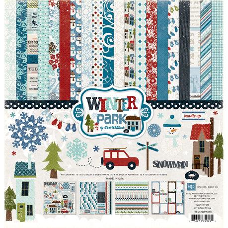 Echo Park - Winter Park Collection - 12 x 12 Collection Kit