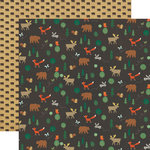 Echo Park - The Wild Life Collection - 12 x 12 Double Sided Paper - Wildlife