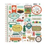 Echo Park - The Wild Life Collection - 12 x 12 Cardstock Stickers - Elements