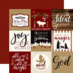 Echo Park - Wise Men Still Seek Him Collection - Christmas - 12 x 12 Double Sided Paper - 4 x 4 Journaling Cards