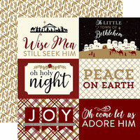 Echo Park - Wise Men Still Seek Him Collection - Christmas - 12 x 12 Double Sided Paper - 4 x 6 Journaling Cards