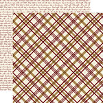 Echo Park - Wise Men Still Seek Him Collection - Christmas - 12 x 12 Double Sided Paper - Peaceful Plaid