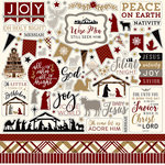 Echo Park - Wise Men Still Seek Him Collection - Christmas - 12 x 12 Cardstock Stickers - Elements