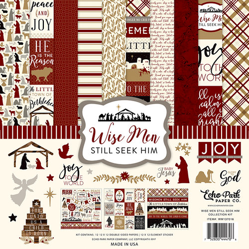 Echo Park - Wise Men Still Seek Him Collection - Christmas - 12 x 12 Collection Kit