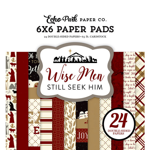 Echo Park - Wise Men Still Seek Him Collection - Christmas - 6 x 6 Paper Pad