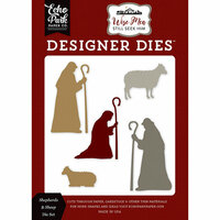 Echo Park - Wise Men Still Seek Him Collection - Christmas - Designer Dies - Shepherds and Sheep