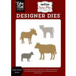 Echo Park - Wise Men Still Seek Him Collection - Christmas - Designer Dies - Stable Animals