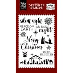 Echo Park - Wise Men Still Seek Him Collection - Christmas - Clear Photopolymer Stamps - Oh Holy Night