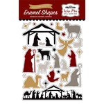 Echo Park - Wise Men Still Seek Him Collection - Christmas - Enamel Shapes