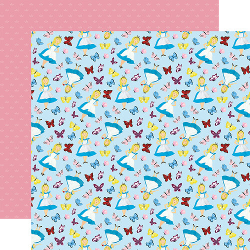Echo Park - Alice In Wonderland No. 2 Collection - 12 x 12 Double Sided Paper - Alice