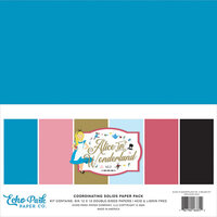 Echo Park - Alice In Wonderland No. 2 Collection - Paper Pack - Solids