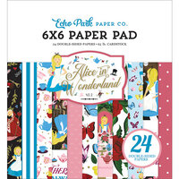 Echo Park - Alice In Wonderland No. 2 Collection - 6 x 6 Paper Pad