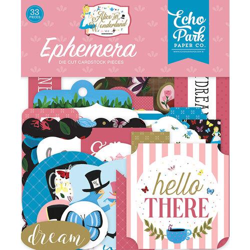 Echo Park - Alice In Wonderland No. 2 Collection - Ephemera