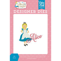 Echo Park - Alice In Wonderland No. 2 Collection - Designer Dies - Alice