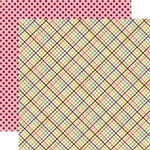 Echo Park - A Walk in The Park Collection - 12 x 12 Double Sided Paper - Picnic Fun, CLEARANCE