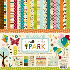 Echo Park - A Walk in The Park Collection - Collection Kit, CLEARANCE