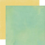 Echo Park - Walking On Sunshine Collection - 12 x 12 Double Sided Paper - Sea Foam