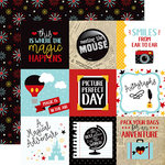 Echo Park - Wish Upon a Star Collection - 12 x 12 Double Sided Paper - 4 x 4 Journaling Cards