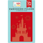 Echo Park - Wish Upon a Star Collection - Embossing Folder - Dreams Come True