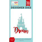 Echo Park - Wish Upon a Star Collection - Designer Dies - Dream Castle