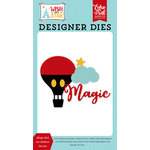 Echo Park - Wish Upon a Star Collection - Designer Dies - Magic Hot Air Balloon
