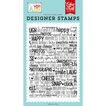 Echo Park - Wish Upon a Star Collection - Clear Photopolymer Stamps - Meeting the Mouse Background