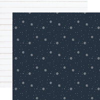 Echo Park - Winter Collection - 12 x 12 Double Sided Paper - Snowflake Kisses