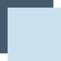 Echo Park - Winter Collection - 12 x 12 Double Sided Paper - Light Blue