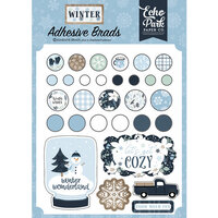 Echo Park - Winter Collection - Adhesive Brads