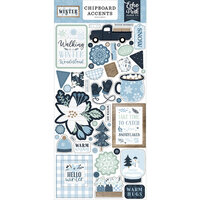 Echo Park - Winter Collection - Chipboard Accents