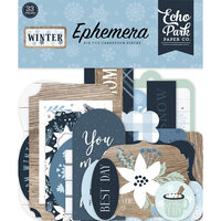 Echo Park - Winter Collection - Ephemera