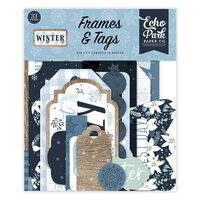 Echo Park - Winter Collection - Frames and Tags