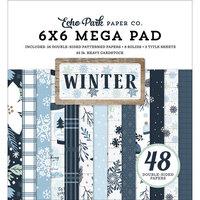 Echo Park - Winter Collection - 6 x 6 Mega Paper Pad