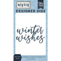 Echo Park - Winter Collection - Designer Dies - Winter Wishes