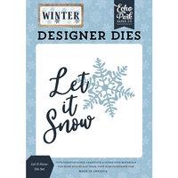 Echo Park - Winter Collection - Designer Dies - Let It Snow