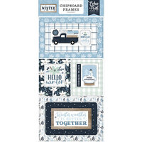 Echo Park - Winter Collection - Chipboard Frames