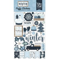 Echo Park - Winter Collection - Puffy Stickers