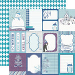 Echo Park - Winter Wishes Collection - 12 x 12 Double Sided Paper - Journal Cards