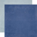 Echo Park - Winter Wishes Collection - 12 x 12 Double Sided Paper - Dark Blue