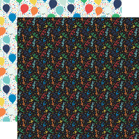 Echo Park - It's Your Birthday Boy Collection - 12 x 12 Double Sided Paper - Boy Confetti