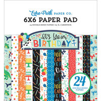 Echo Park - It's Your Birthday Boy Collection - 6 x 6 Paper Pad