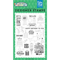 Echo Park - It's Your Birthday Boy Collection - Clear Photopolymer Stamps - Birthday Boy