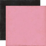 Echo Park - Yours Truly Collection - 12 x 12 Double Sided Paper - Dark Pink