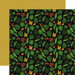Echo Park - Animal Safari Collection - 12 x 12 Double Sided Paper - Tropical Leaves