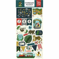 Echo Park - Animal Safari Collection - Chipboard Stickers - Accents