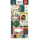 Echo Park - Animal Safari Collection - Cardstock Stickers - Phrases