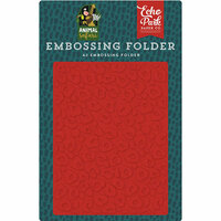 Echo Park - Animal Safari Collection - Embossing Folder - Leopard