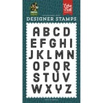 Echo Park - Animal Safari Collection - Clear Photopolymer Stamps - Zoo Day Alphabet